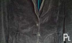 vero moda curduroy jacket size 10 in eu used once only
