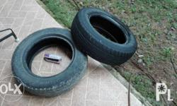 165/65R13 for small car or multicab. Only used six