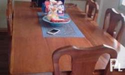 Very Urgent!!! Dining Set with 8 Sitter Pure Narra