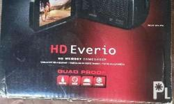 JVC HD Everio video camera with wifi. High quality for