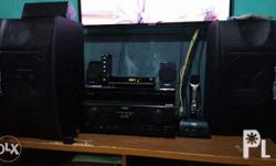 Complete videoke sound system with konzert sound