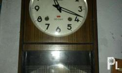 For sale my Old mechanical clock Made in Japan Mantel