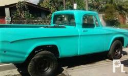 1967 Dodge Pick Up Truck, New smooth Ahnzal paint,
