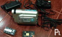 For sale vintage JVC minidivi camcorder.I think it's