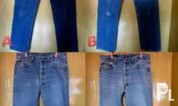 Used Vintage Levis 501 Jeans Read Before Making an