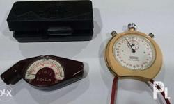 Vintage Tire Gauge Vintage Stop Watch by Tag Heuer