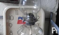 Vintage oil lamp by lamplight made in austria great