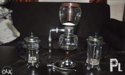 Classic PYREX coffee maker set 1200 pesos collectible 1