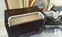 Vintage 1940's rca victor am radio tested and working