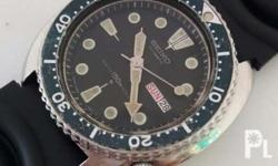 Vintage Seiko Scuba Diver Turtle. Made in Japan.