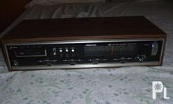 Vintage,Soundesign stereo receiver with 8 track player