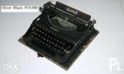 A collectible of rare typewriters 100% Authentic in