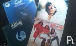 4 vinyl records for sale in good condition. For pick up