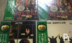 Used but fresh and good condition Vinyl records