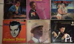 Old and vintage vinyl records. Prices may be higher or