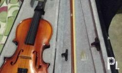 Mozart Violin (3/4), and guitar. Seldom used.
