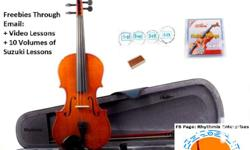 Brand New Violin Package Promo W/Freebies! Contact Us