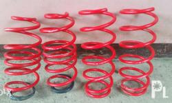 1.5 inch drop lowering spring for 2nd gen vios