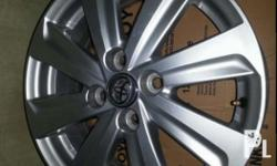 "15"" alloy wheels mags for vios slightly used. Two days"