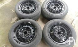 """14"""" rims from vios PCD 100 No dents In good condition"""