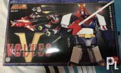 BANDAI SOC Soul of Chogokin GX-31 Voltes V Opened only