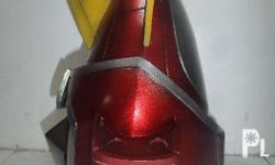 1. Customized Voltes V helmet - made of highly durable