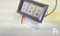 Voltmeter for car or motorcyle batteries 5 volts to 120