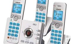 Brand new from the USA. VTech DECT 6.0 3 Handset