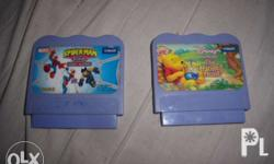 vtech games tape for VTECH SMILE titles: spiderman and