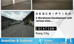 Industrial for Rent in Pasig City The property has