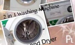 Washer and dryer 2 in 1 7kg In good condition 2nd hand
