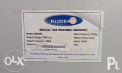 Fujidenso Washing Machine Model # JWS680 2nd hand