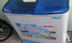 Washing machine twin tub 6.0kg Model: sanyo sw-830xts