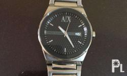 Original Armani Exchange Watch All stainless steel