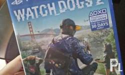 Selling Watch Dogs 2 PS4 Game Negotiable Price Meetups