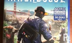Watch Dogs 2 PS4! Used only for a week! In a solid