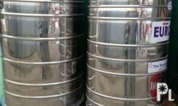We distribute different kinds of water tanks. Stainless