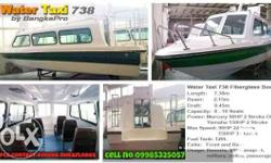 Good day, were selling a Water Taxi Passengers boat,