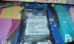 WD 640GB mobile recertified, sealed unit. If interested