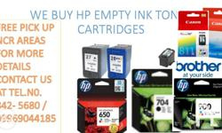 we buy hp empty ink toner cartridges we accept