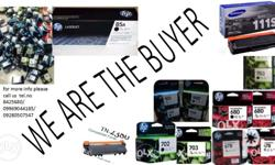we buy hp empty ink toner cartridges. brandnew