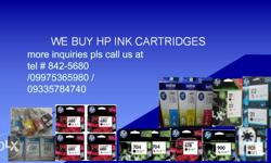 HEllo this is PIHLINKTRADING we buy hp empty ink toner