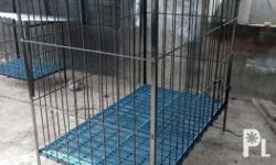We fabricate different sizes of dog cages, just txt or