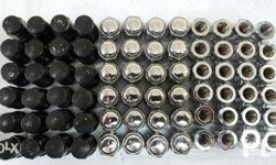 Lug nuts 12x1.5 We Pro Bull lock 24pcs per set 3 sets