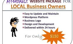 AFFORDABLE WEBSITE PACKAGE FOR LOCAL BUSINESS OWNERS: