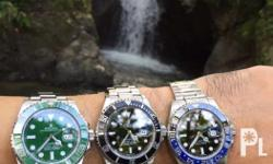 We are buying high-end vintage or modern watches We