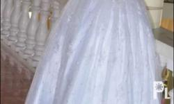 Wedding Gown Used once only Beautiful & Modest. For