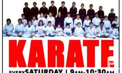 INVITING EVERYONE... Karate Lesson every Saturdays