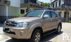 A well kept Toyota Fortuner for sale. No hidden
