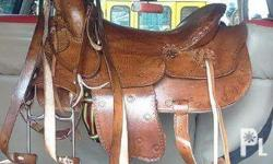 For sale brand new Western design horse saddle for only